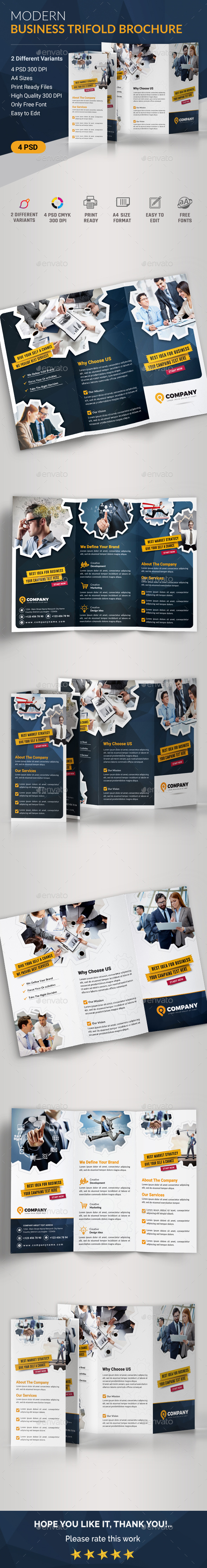 Business Trifold - Corporate Brochures