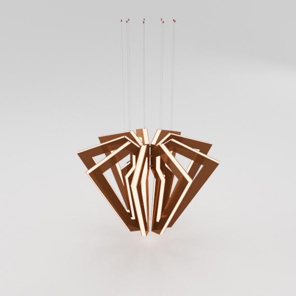 Metal Spider Chandelier - 3DOcean Item for Sale