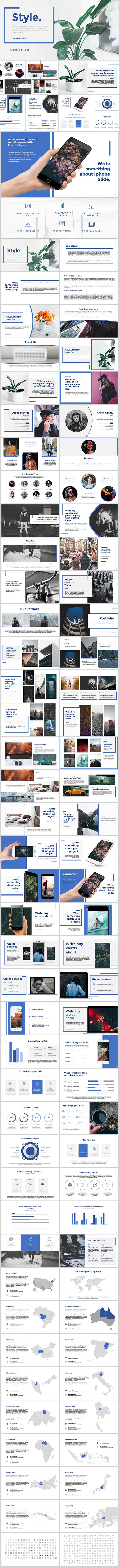 Style Google Slides - Google Slides Presentation Templates