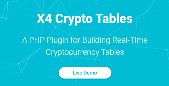X4 Crypto Tables - PHP Plugin - CodeCanyon Item for Sale