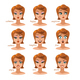 Woman Character Expressions  - GraphicRiver Item for Sale