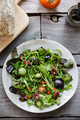 Green Salad with Green Tomatoes,Pecan and Goji berry Salad - PhotoDune Item for Sale