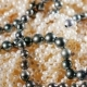Background of Natural Pearls. Slowly Rotates - VideoHive Item for Sale
