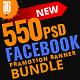 550 Facebook Banner Bundle v2