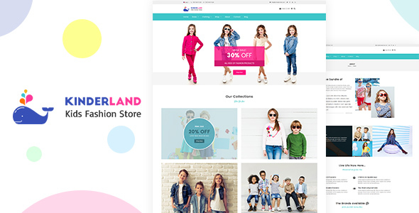 Kinder land – Kids Fashion Store Shopify Theme