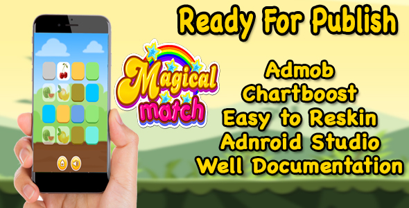 Magical Match - Puzzle Game For Kids - Ready For Publish - Android - CodeCanyon Item for Sale