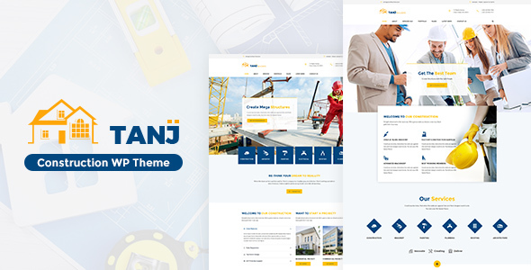 Tanj Construction - Architecture, Construction Theme