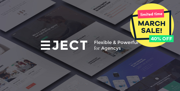 Eject | Web Studio & Creative Agency - Business Corporate