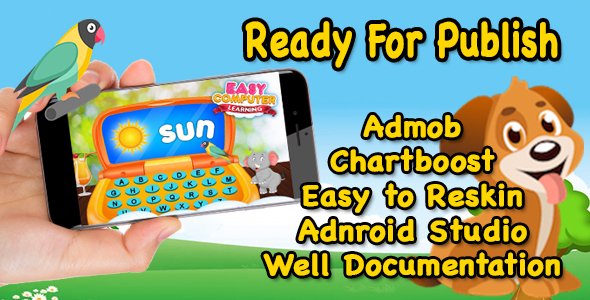 Pre School Learn - Game For Kids - Ready For Publish - Android - CodeCanyon Item for Sale