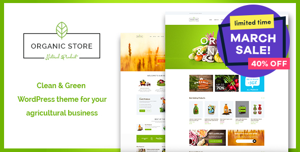 Organic Store | Organic Food & Eco Products + RTL