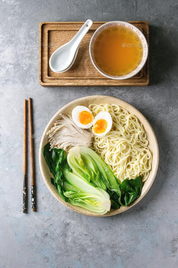 Asian udon noodles - Stock Photo - Images