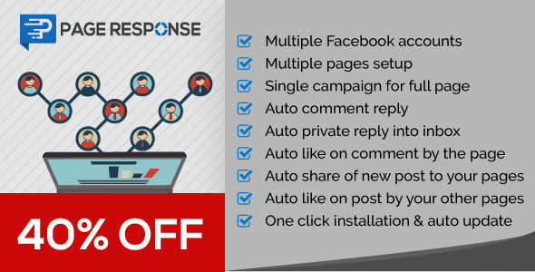 PageResponse - A FB Inboxer Add-on : Facebook Auto Comment/Private Reply & Like/Share for Full Page - CodeCanyon Item for Sale