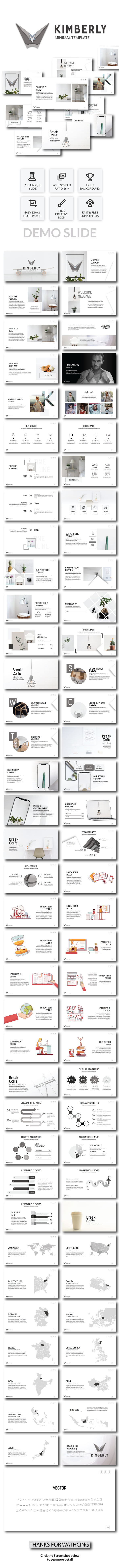 Kimberly - Powerpoint Template - PowerPoint Templates Presentation Templates