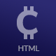 CryptoCurrency - HTML Template