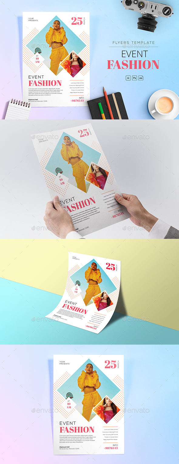 Event Fashion Flyers - Events Flyers