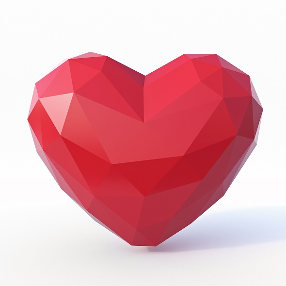 Love Low Poly - 3DOcean Item for Sale