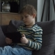 Preschool Kid Using Digital Tablet for Playing Game - VideoHive Item for Sale