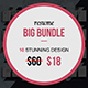 Resume & Cover Letter Big Bundle - GraphicRiver Item for Sale