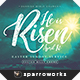 Easter Mailer Postcard Print Template - GraphicRiver Item for Sale