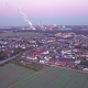 Aerial Skyline of Duisburg Mndelheim - VideoHive Item for Sale
