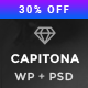 Capitona - App Landing WordPress Theme - ThemeForest Item for Sale