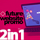 Future Website Promo 2in1 - VideoHive Item for Sale