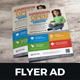 School Study Promotion Flyer Ad v2 - GraphicRiver Item for Sale