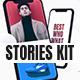 Elegant Stories Kit || Instagram, Facebook, Snapchat - VideoHive Item for Sale