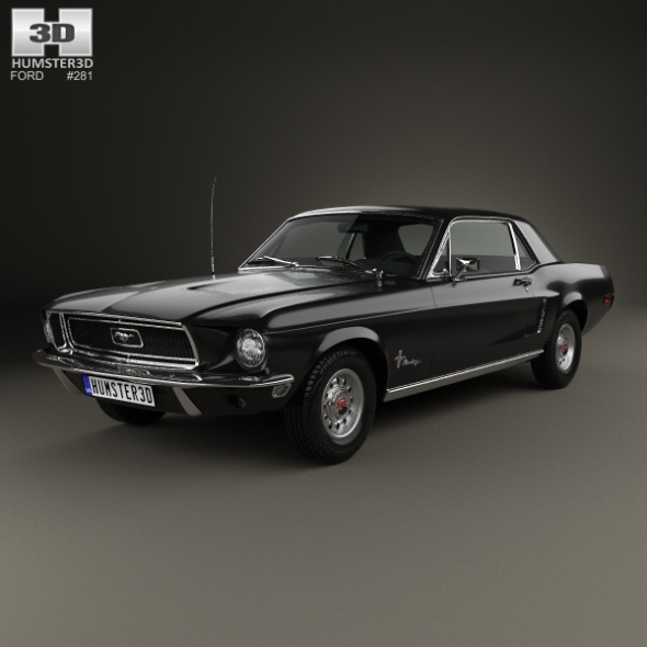 Ford Mustang Hardtop 1968 - 3DOcean Item for Sale