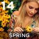14 Spring Mood Presets - GraphicRiver Item for Sale