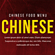 Chinese Food Menu Bundle