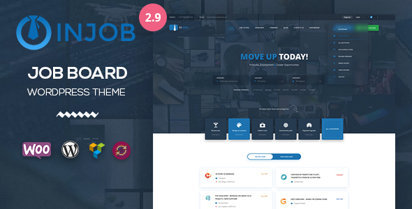 Job Board WordPress Theme - InJob - Directory & Listings Corporate