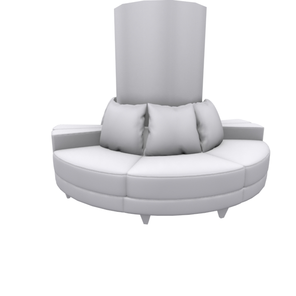 Circle type sofa - 3DOcean Item for Sale