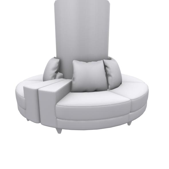 Circle type sofa