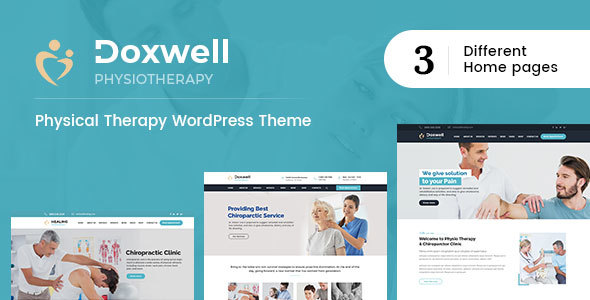 Image of Doxwell : Physical Therapy WordPress Theme