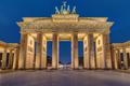 The famous illuminated Brandenburger Tor in Berlin - PhotoDune Item for Sale