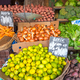 Vegetables and salad in baskets at a market - PhotoDune Item for Sale