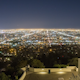 Griffith Observatory and Downtown Los Angeles Time Lapse at Night - VideoHive Item for Sale