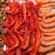 Prawns and mussels for sale at a market - PhotoDune Item for Sale