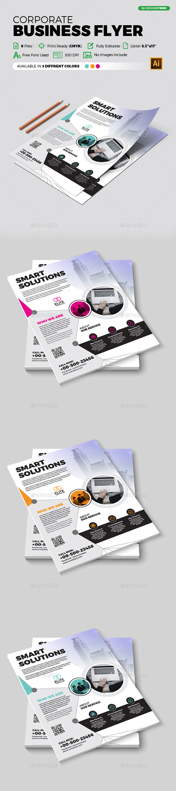 Flyer – Multipurpose 367 - Corporate Flyers