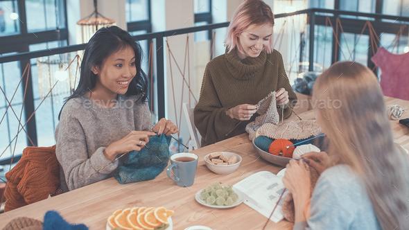 Knitting - Stock Photo - Images