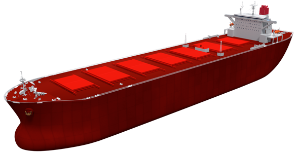 Capesize Bulk Carrier - 3DOcean Item for Sale