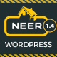 Neer - Construction Business WordPress Theme - ThemeForest Item for Sale