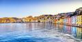 Porto Santo Stefano panoramic view of seafront. Argentario, Tusc - PhotoDune Item for Sale