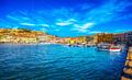 Elba island, Portoferraio village harbour and skyline. Tuscany, - PhotoDune Item for Sale