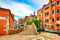 Venice cityscape, water canal, bridge and traditional buildings. - PhotoDune Item for Sale