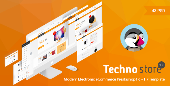 Image of Technostore Responsive Prestashop 1.6 & 1.7 Theme