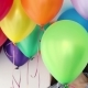 Woman Hides Her Head an Air Colorful Balloons - VideoHive Item for Sale