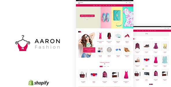 Aaron - Unisex Fashion Store Shopify Theme
