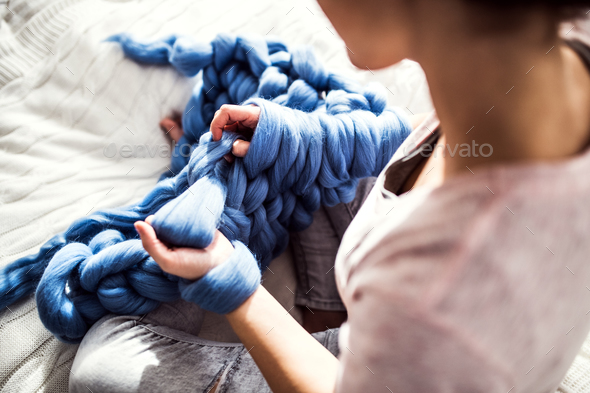 Small business of a young woman. - Stock Photo - Images